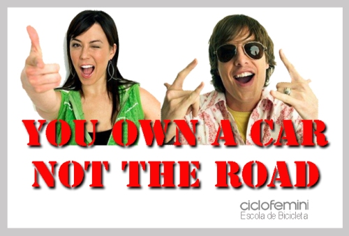 you won a car not the road